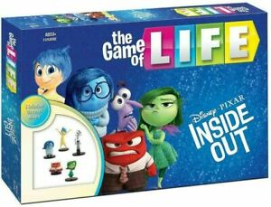 Inside Out the game of Life Board Game Disney Pixar RARE -