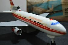 Vintage RARE TWA Jet Plane Battery Operated - Thailand with Box