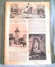 1907 Arany János VASARNAPI UJSAG magazine Hungary Linek Lajos Sas Ede Sully