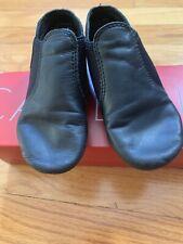 Capezio Boys Children's Jazz Dance Slip On Shoes Black size 11.5 EUC