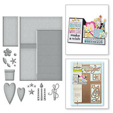 SPELLBINDERS POP-UPS CARD GIFT OF HAPPINESS DIE CUTTING SET - LETS PARTY  S7-203