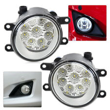 For Toyota Camry Corolla Lexus New 55W 9-LED Fog Lamp DRL Daytime Driving Lights