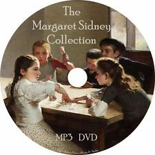 Margaret Sidney Childrens Audiobook Collection in English on 1 MP3 DVD Free Ship