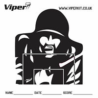100 x 17CM VIPER DOUBLE SIDED PRO PAPER TARGET FOR BB GUN AIRSOFT OR SLINGSHOT