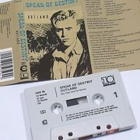 SPEAR OF DESTINY OUTLAND 1987 CASSETTE TAPE ALBUM 10 RECORDS INDIE ALTERNATIVE