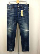 2 Herren-Straight-Cut-Jeans in normaler Größe (en) Dsquared niedriger Bundhöhe