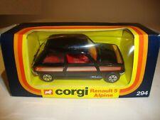 CORGI 294 RENAULT 5 ALPINE - VN MINT in original BOX