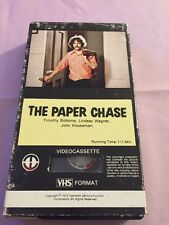 The Paper Chase RARE VHS Magnetic Video original first release Timothy Bottoms