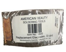 New listing American Beauty Replacement Electrodes, Pk6 Item No. 10542