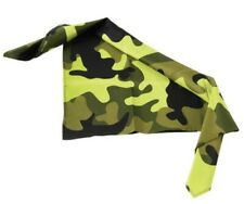 Polyester Camouflauge Face Covering Bandanas Camo Mask Gear Polyester Army Green