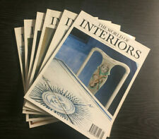 The World of Interiors Magazine 1991: 6 Issues