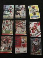 Lot Of 50 Kansas City Chiefs Cards