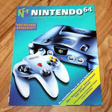 Nintendo 64 Ad Magazine Super Mario 64 Kirby Air Ride Wave Race Pilotwings Turok