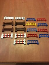 Lego Duplo Lot Of 18 Fence Parts Pieces 1x6x2 House Farm City