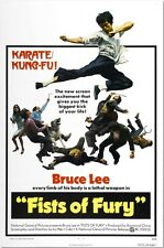 Fists of Fury - Bruce Lee - A4 Laminated Mini Movie Poster