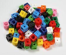 100 Steckwürfel 1,7 cm Mathematik Grundschule Vorschule Dick-System div. Farben