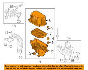 KIA OEM 14-16 Soul Air Cleaner Intake-Filter Box Housing 28110B2000