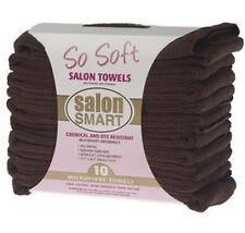 Microfibre Salon Towels Chocolate (10)  Salon Smart