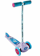 DISNEY Frozen FLEX 3 antiscivolo WHEEL non OUTDOOR SCOOTER/Tri-Scooter * NUOVO *