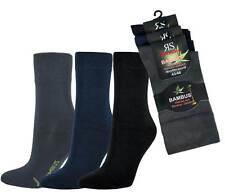 3-15 Paar Bambus Socken Bambussocken Softrand ohne Gummi für Damen und Herren