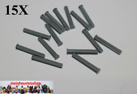 15X Lego® Technic 87083 Achse Kreuzachse mit Stopper 4L neues Dunkelgrau NEU