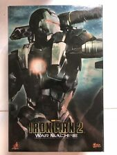 Hot Toys MMS 120 Iron Man 2 War Machine Don Cheadle 12 inch Figure OPEN NEW