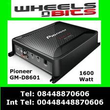 Pioneer Gm-d8601 Mono bloque 1600watt CLASE D COCHE AMP, Con Bass Boost Control Remoto