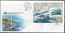 MALAYSIA 2004 Major Ports of M'sia MS FDC pmk Lahad Datu
