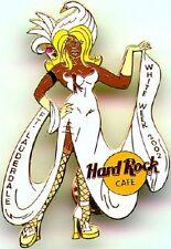 "Hard Rock Cafe FORT LAUDERDALE 2002 ""WHITE WEEK"" PIN Transvestite in Dress Heels"
