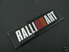 RALLIART Badge  ASX OUTLANDER EVO COLT LANCER L200 SHOGUN