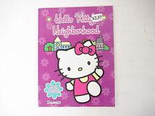 Hello Kitty Neighborhood Coloring Book by Sanrio