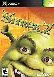 Shrek 2 (Microsoft Xbox, 2004) - Platinum Hits