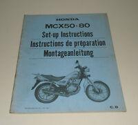 Istruzioni Montaggio Mcx 50/80 Stand 1982