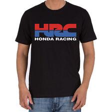 Genuine Honda HRC Racing Extreme CBR Steetwear Motorcycle Black Men Tee T-Shirt
