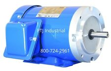 1 HP Electric Motor 56C Frame 3 Phase 3600 RPM TEFC Inverter Rated