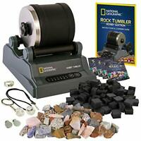 National Geographic Hobby Rock Tumbler Kit - Rock Polisher for Kids & Adults,