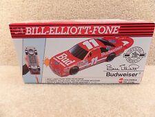 New 1990's NASCAR Columbia Tel-Com Phone Telephone Bill Elliott Bud Budweiser