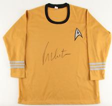 "William Shatner Signed Star Trek ""Captain James T. Kirk""  Replica Uniform Shirt"