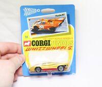 Corgi Juniors Whizzwheels No 51 Porsche 917 - Mint Unopened On Card