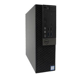 Dell Optiplex 7040 SFF Desktop QC i5-6500 8GB RAM 240GB SSD 500GB HDD W10P HDMI