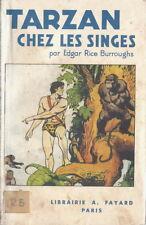 TRÈS RARE EO 1926 EDGAR RICE BURROUGHS + HAROLD FOSTER : TARZAN CHEZ LES SINGES