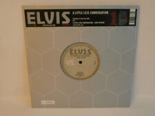 "00s ELVIS PRESLEY little less conversation UK Limited Numbered 10"" Vinyl 45 Mint"