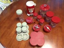 Mixed Lot Bella Baby Rocket Blender with Baby Bullet Storage Items 29 Pieces Guc