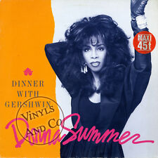DONNA SUMMER - Dinner With Gershwin [7'43] MAXI 45 TOURS Germany Maxi-Single 12""