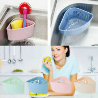 New Multi-purpose Kitchen Sink Storage Holders Drain Basket Storage Shelf B3E0