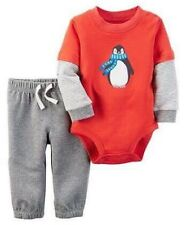 MSD Original Carter's Penguin Bodysuit Set