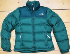 ⭐️ THE NORTH FACE NUPTSE - 700 DOWN insulated WOMEN'S PUFFER GREEN JACKET size S