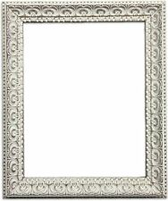 Vintage Distressed Shabby Chic Cream Ornate Photo Picture Poster Frame Large