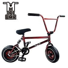 NEW Ride 858 MINI BMX BIKE  3pc Crank - Integrated Headset -RED SPLASH