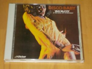 "CD ""VAN McCOY & THE SOUL SYMPHONY - DISCO BABY"" VICTOR VICP-2041, Pressed Japan"